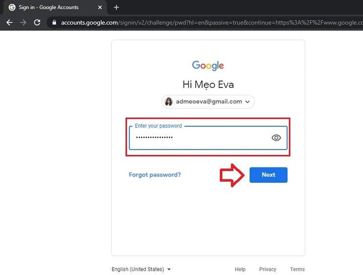 Cách đổi mật khẩu Gmail trên điện thoại và máy tính