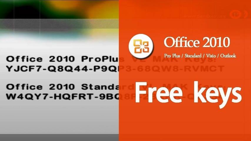 Key Active Office 2010 Professional Plus
