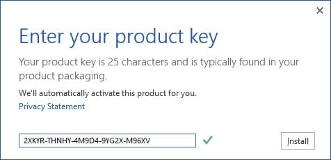 Key Active Office 2013 Pro Plus