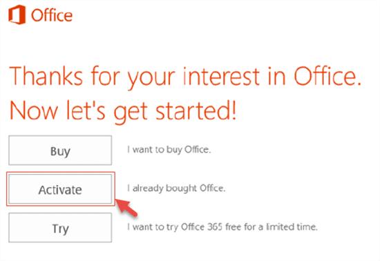 Chia sẻ Key Office 365 kích hoạt bản quyền miễn phí vĩnh viễn