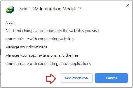 Cách thêm IDM vào Chrome, cài đặt IDM Integration Module