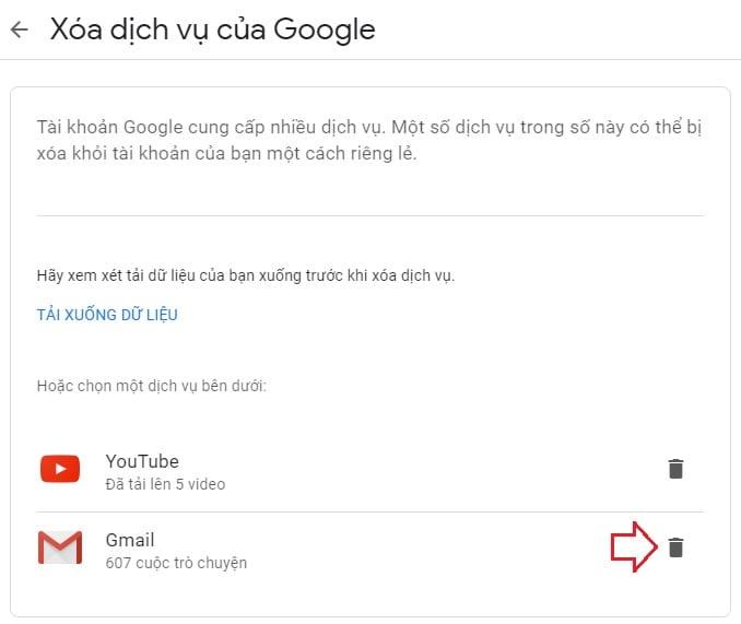 Cách xóa tài khoản Gmail trên điện thoại và máy tính