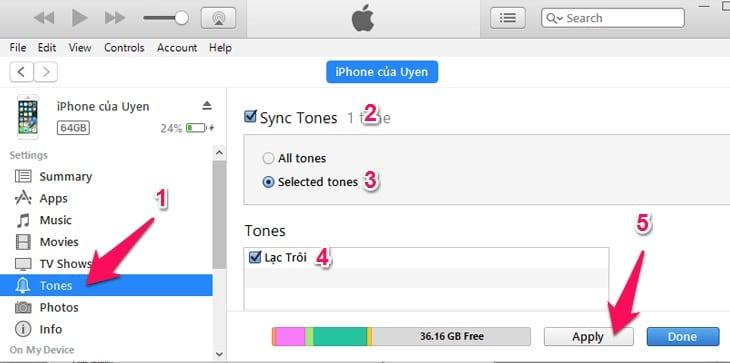 Cách cài nhạc chuông cho iphone nhanh đơn giản nhất