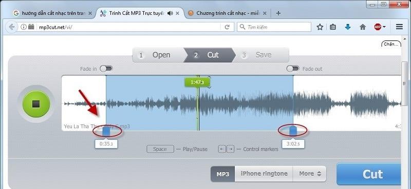 Cách cắt ghép nhạc MP3 online trực tuyến nhanh nhất