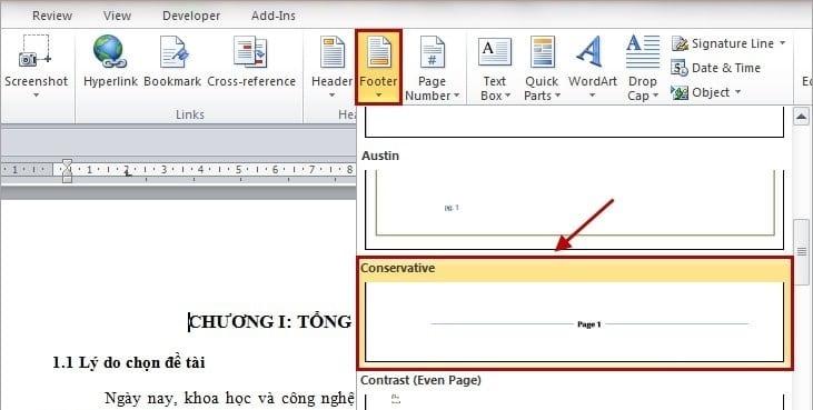 Cách đánh số trang trong Word 2010, 2013, 2016 & 2019
