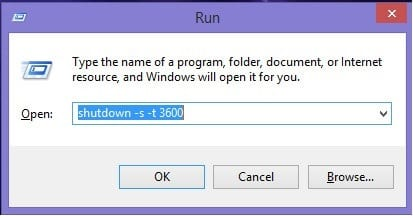 Cách hẹn giờ tắt máy tính cho Win 10/8.1/7 cực nhanh đơn giản