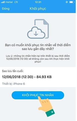 Cách khôi phục tin nhắn Zalo đã xóa trên máy tính và điện thoại