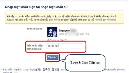 Cách lấy lại tài khoản Facebook khi bị hack thành công