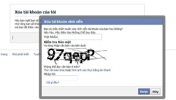 Cách xóa tài khoản Facebook vĩnh viễn đơn giản nhất