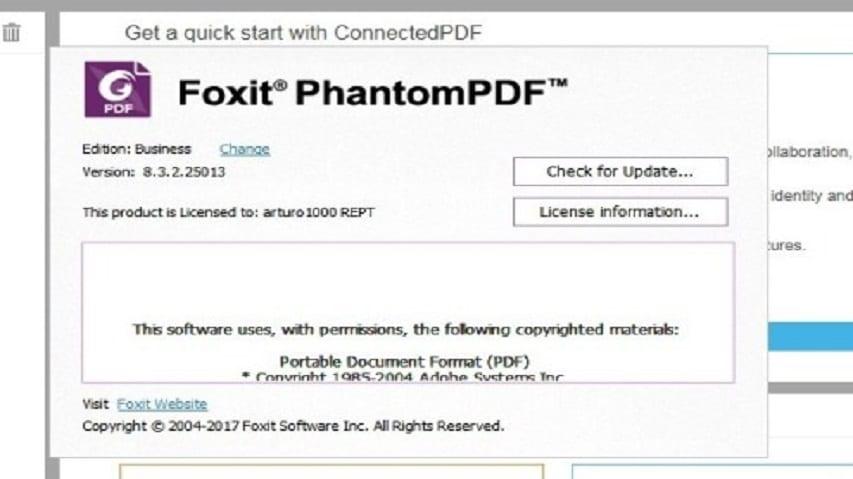 Chia sẻ Key Foxit Reader, Key Foxit PhantomPDF bản quyền miễn phí