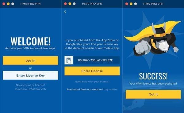 Chia sẻ Key HMA Pro VPN miễn phí cập nhật liên tục