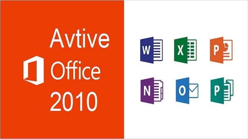 Active Office 2010 Bằng Key & CMD 100% thành công