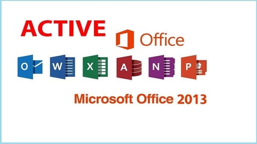 Active Office 2013 Bằng Key & CMD 100% thành công