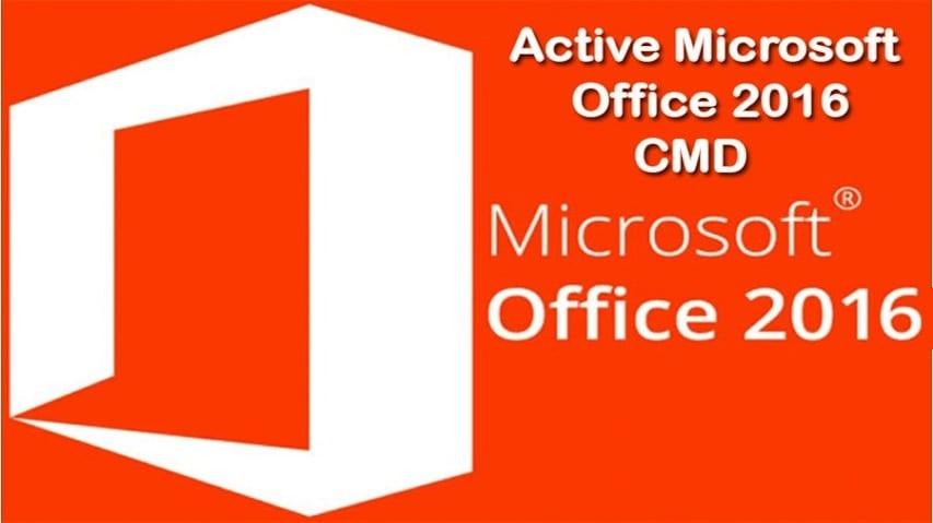 Active Office 2016 Bằng Key & CMD 100% thành công an toàn