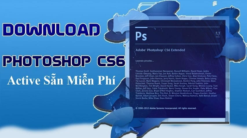 Download Photoshop CS6 Full Active sẵn miễn phí