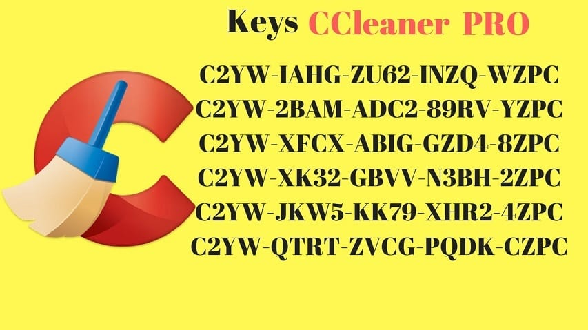 Share Key CCleaner Professional Active