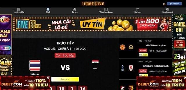 11met tv - Xem bóng đá trực tuyến miễn phí ngay hôm nay với 11met.tv