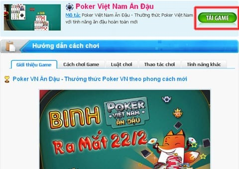 Game bài đổi thưởng trên máy tính
