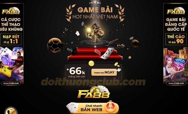 Cổng game Fa88 Club