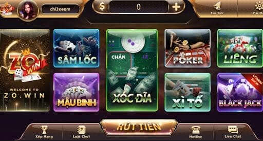 cổng game ZoWin