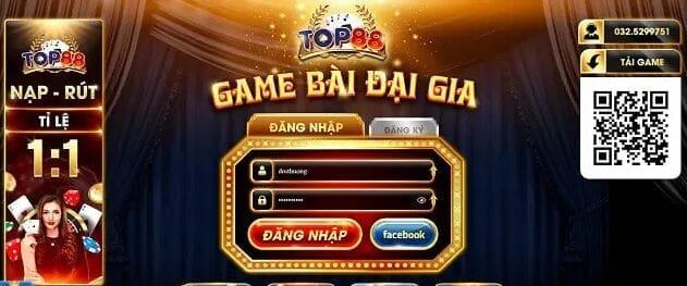 cổng game Top88 Club