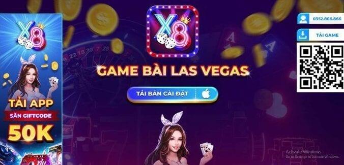 Nhà cái game bài đổi thưởng x8club