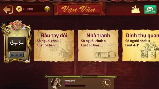 Chắn Vạn Văn online