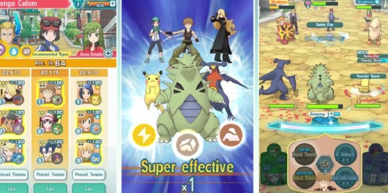 Thủ thuật chơi Pokémon Masters EX