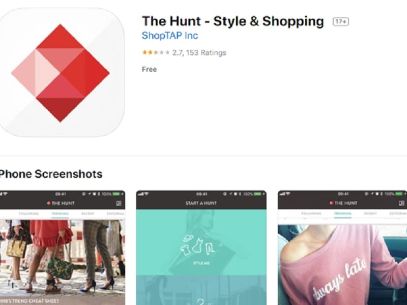 ứng dụng mua sắm thời trang